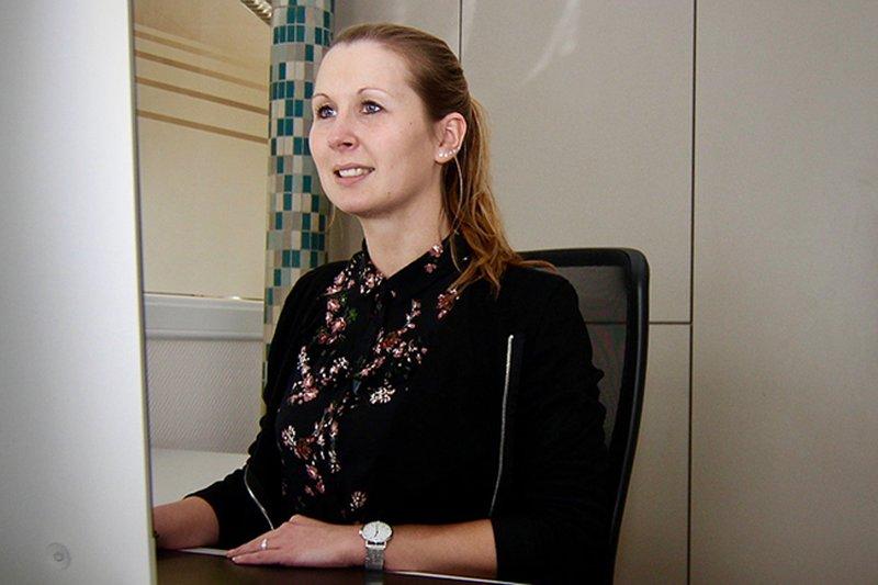 Neue Mitarbeiterin Sarah Lauppe